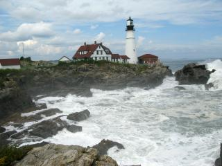 Portland head Lighthouse Free Photo