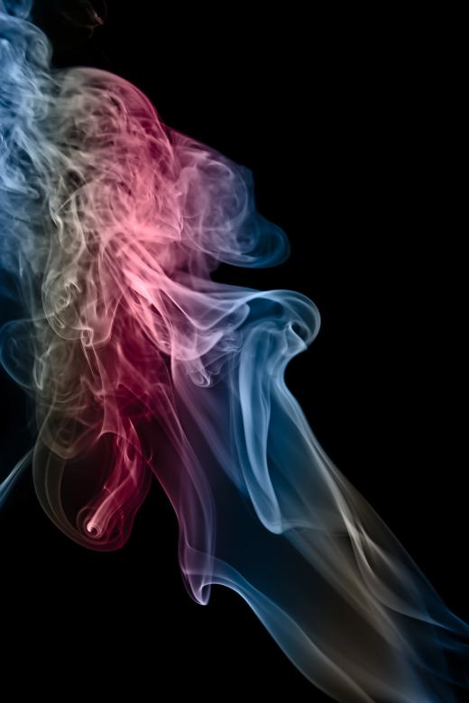 Free Stock Photo of Colored Smoke Created by 2happy