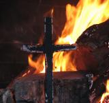 Free Photo - Burning Cross