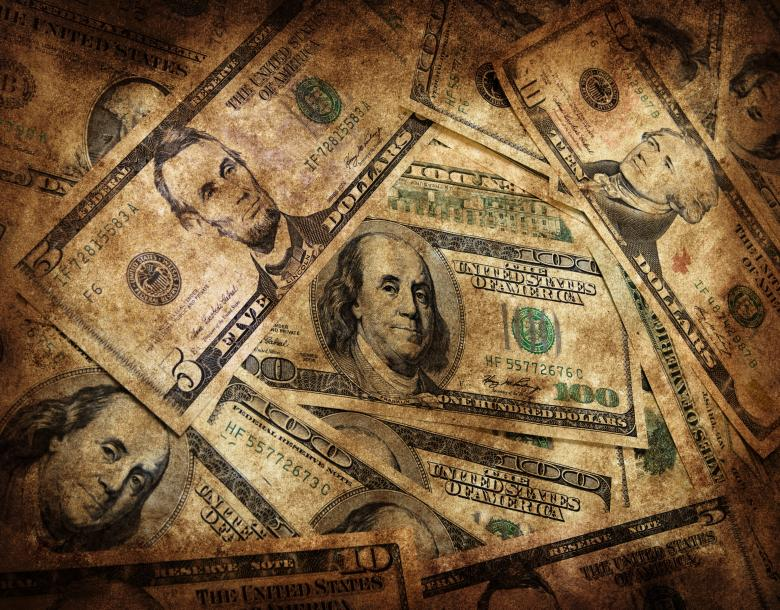 Free Stock Photo of Dirty money background Created by 2happy