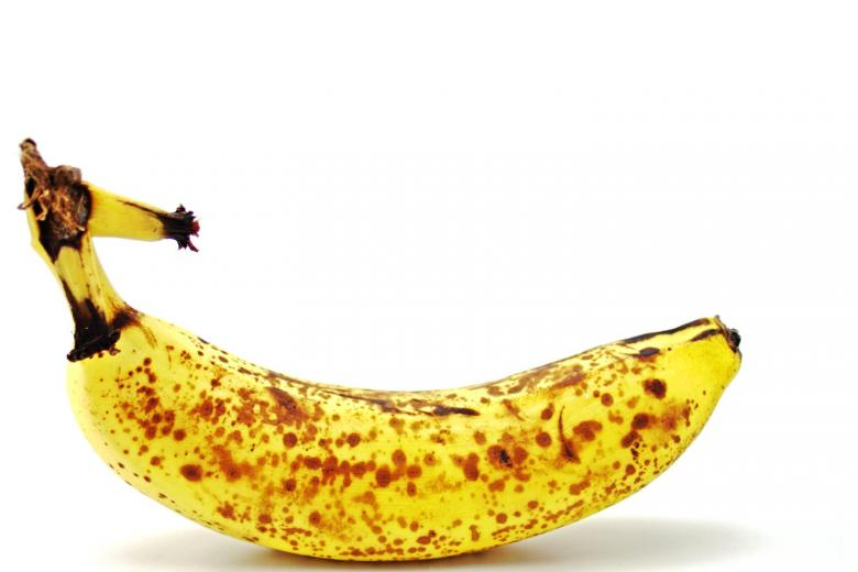 Free Stock Photo of Ripe Banana Created by homero chapa