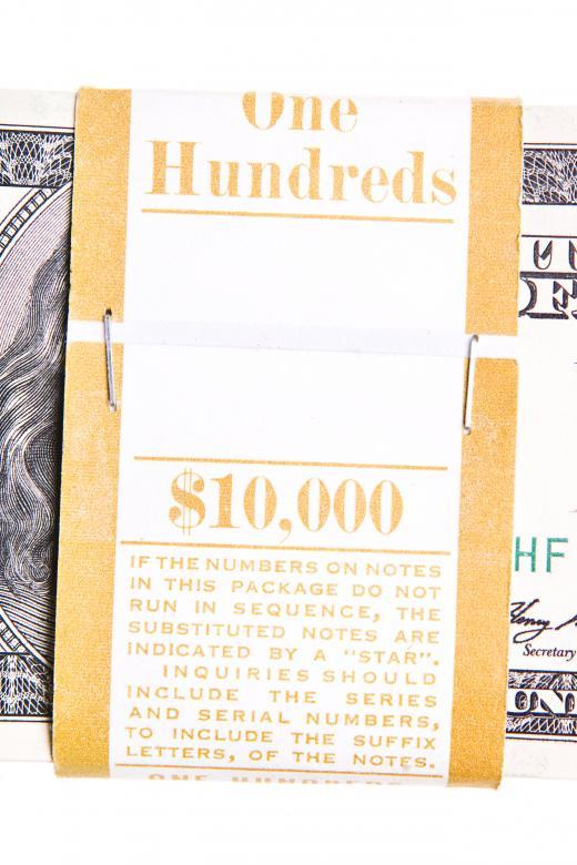 Free Stock Photo of 100 Dollar Bundle