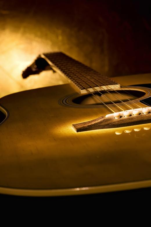 Free Stock Photo of Guitar Created by 2happy