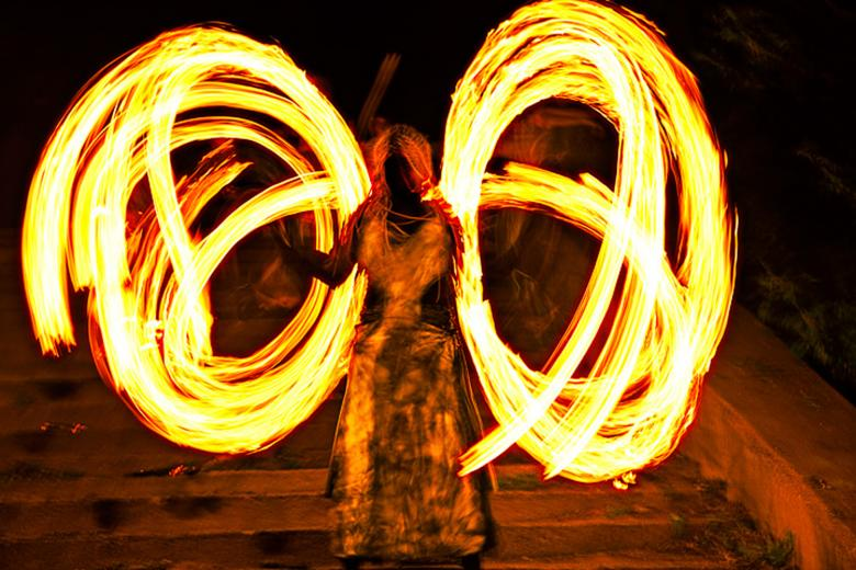 Free Stock Photo of Fire show Created by 2happy