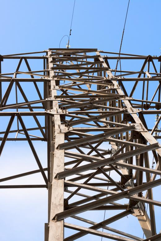 Free Stock Photo of Electrical power lines Created by 2happy