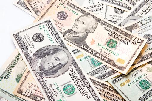 Mixed Dollar Bills - Free Stock Photo