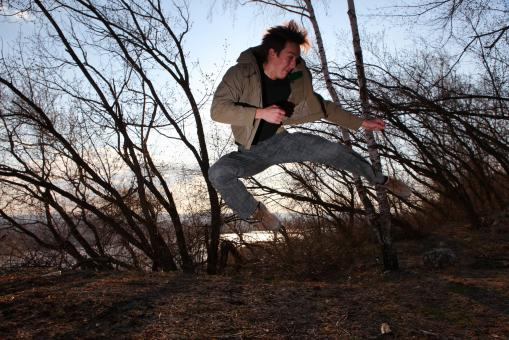 Man jumping - Free Stock Photo