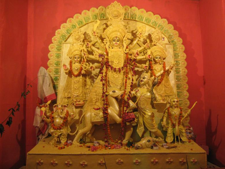 Free Stock Photo of Ma Durga Puja Created by Manash Choudhuri