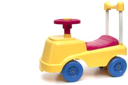 Little ride on car toy - Free Stock Photo