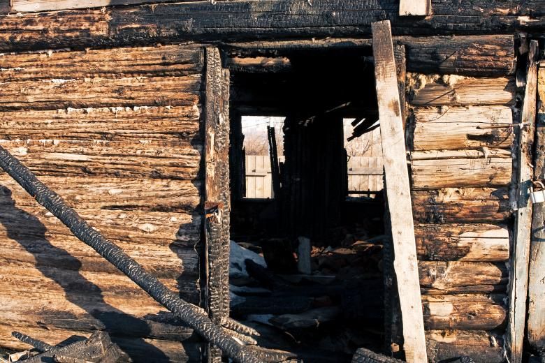 Free Stock Photo of Burnt house Created by 2happy