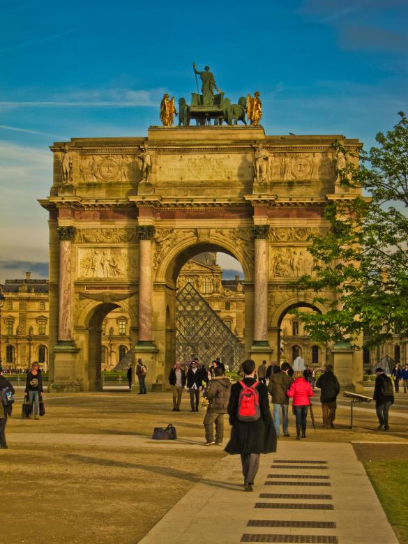 Free Stock Photo of Arc du Louvre Created by Brian