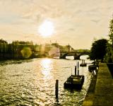Free Photo - Sunset over the Seine