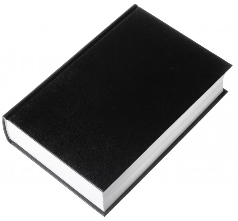 Free Stock Photo of Book with black cover Created by 2happy