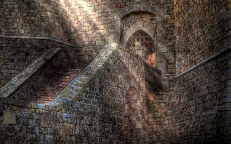 Free Stock Photo of Castle Sunbeam Created by Rachael Towne
