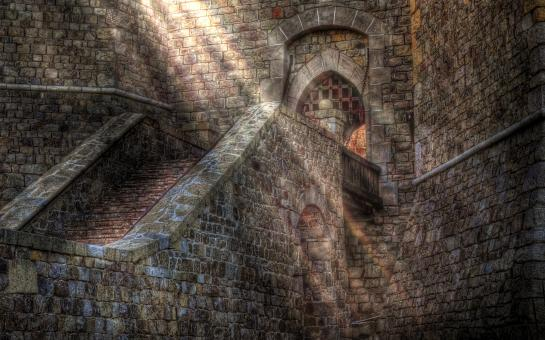 Castle Sunbeam - Free Stock Photo
