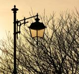 Free Photo - Street lamp at sunset