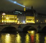 Free Photo - Seine at night