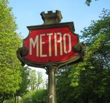 Free Photo - Paris Metro Sign