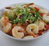 Free Photo - Shrimp Ratatouille