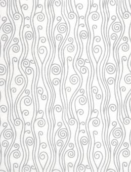 Swirly Pattern On White Paper - Free Stock Photo