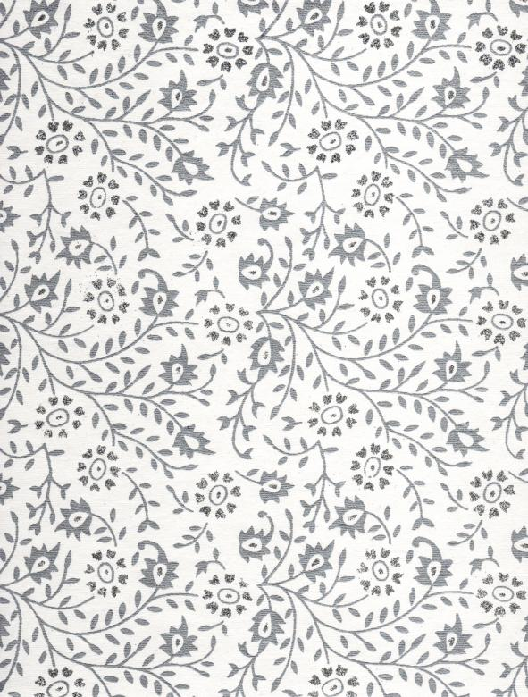 Free Stock Photo of White Paper With Silver Pattern Created by Rachael Towne