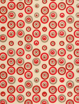Red Gold Circles Paper - Free Stock Photo