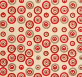Free Photo - Red Gold Circles Paper