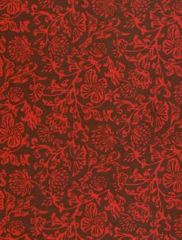 Red Floral Paper - Free Stock Photo
