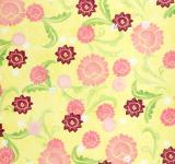Free Photo - Girly Yellow Floral Paper