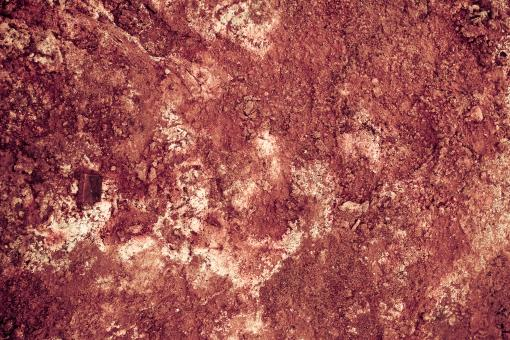 Red Geothermal Mud Surface - Free Stock Photo