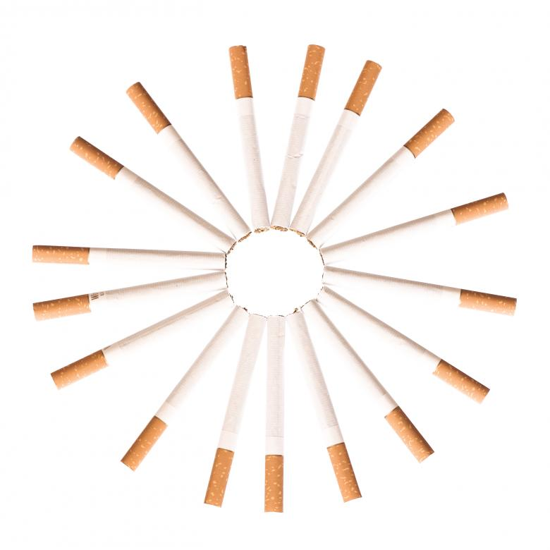 Free Stock Photo of Cigarettes Circle Created by 2happy