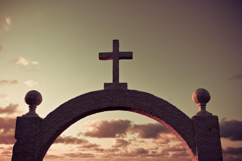 Free Stock Photo of Cemetery Gates Created by Bjorgvin Gudmundsson