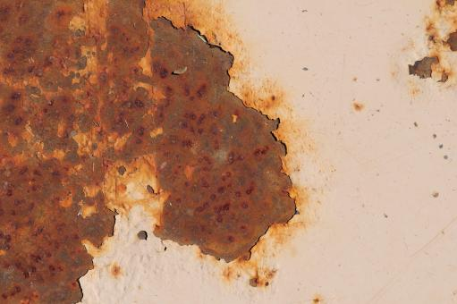 Rusty Painted Surface - Free Stock Photo
