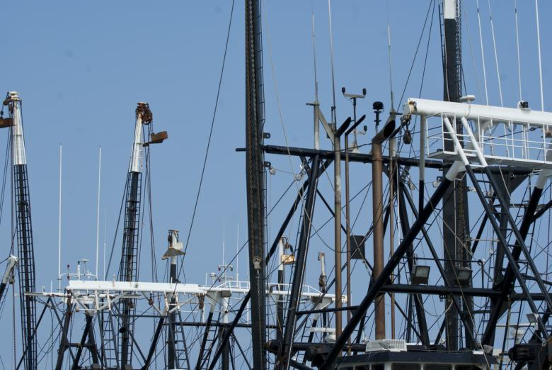 Free Stock Photo of Fishing Boat Rigging Created by Brian Norcross