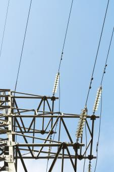 Electrical power lines - Free Stock Photo