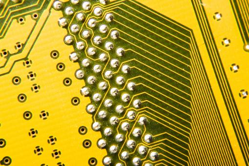 Electronic circuit plate - Free Stock Photo