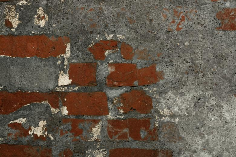 Free Stock Photo of Old Brick Wall Created by 2happy