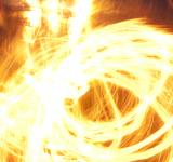 Free Photo - Fiery circles