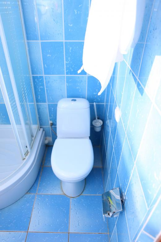 Free Stock Photo of Blue bathroom  Created by 2happy