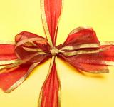 Free Photo - present box with red bow
