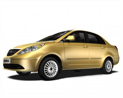 Tata Manza Car - Free Stock Photo