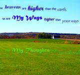 Free Photo - God's Ways-Thoughts Higher