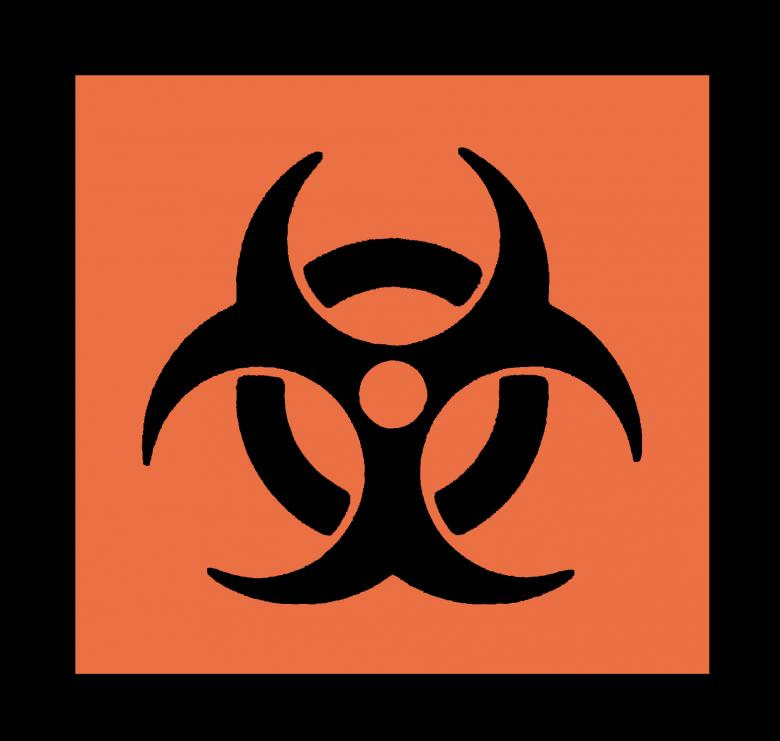 Free Stock Photo of Bio Hazard Symbol Created by James Sigle