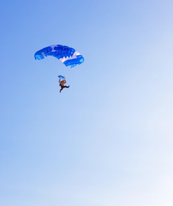Free Stock Photo of skydiver Created by 2happy