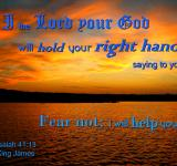 Free Photo - God Holds Hand