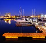 Free Photo - Docks at night
