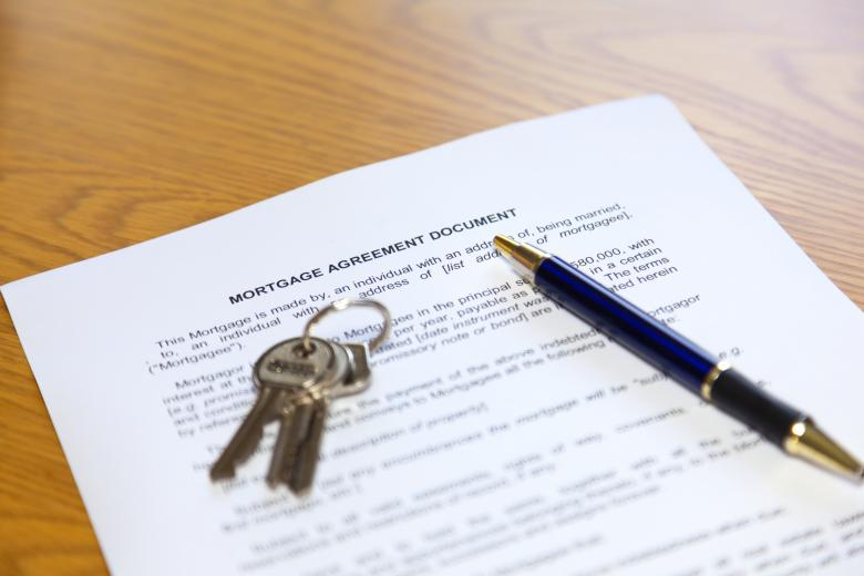 Mortgage Agreement Document Free Photo