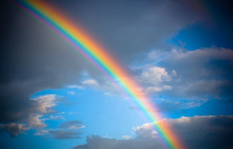 Free Stock Photo of rainbow Created by 2happy