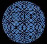 Free Photo - Black and Blue Sphere