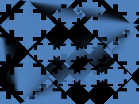 Black and Blue Pattern - Free Stock Photo
